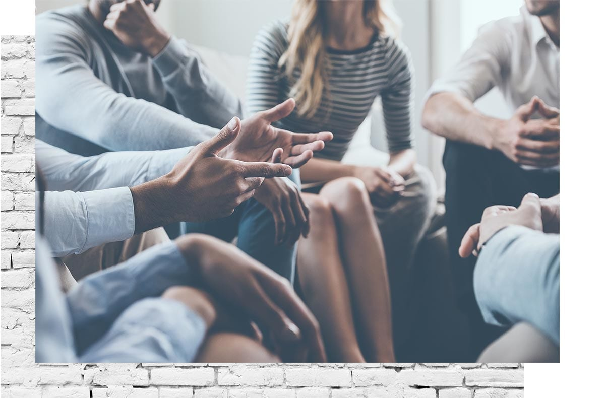 search for change group discussion and group therapy